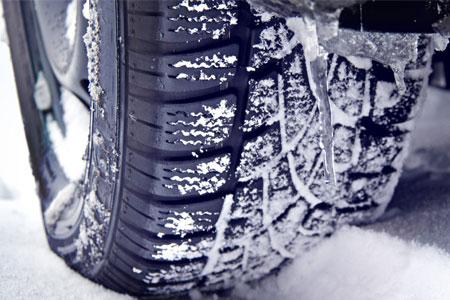 Des pneus taillés pour l'hiver
