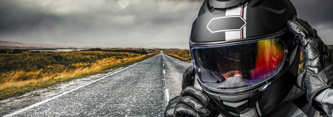 Matériaux d'un casque moto