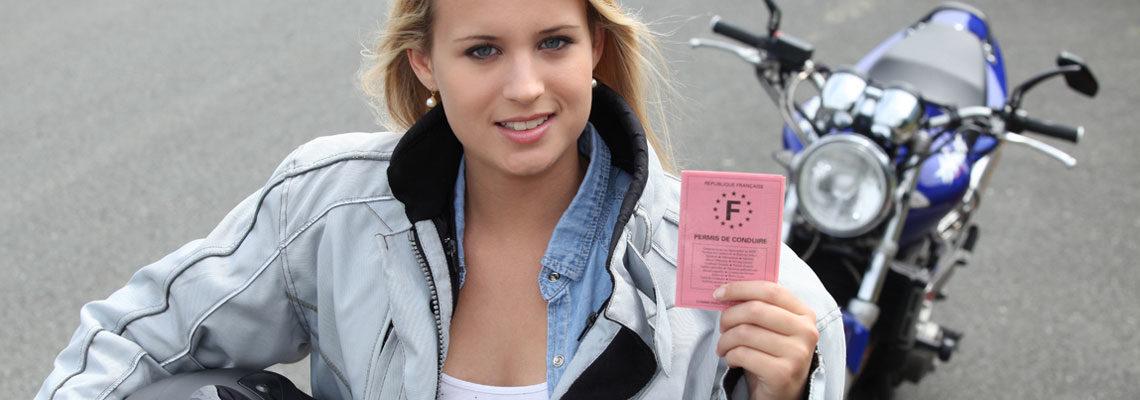 Les permis moto